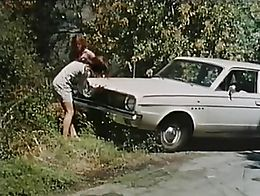 Two girls are driving home when their car breaks down in the middle of nowhere where they encou...