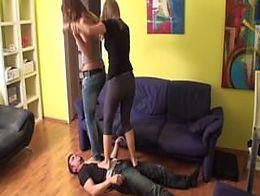 2 Austrian Girls Trampling