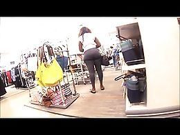 that was some super creep mode right there, but believe me.. I was shopping. Her ass was phat. ...