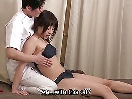 Japanese massage gone way off the rails as an outgoing masseur gradually strips an oiled up cli...