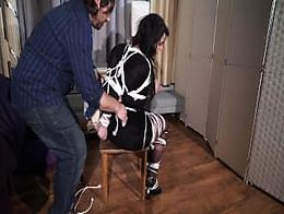 Zk creepy couple bring another brunette born to be bound