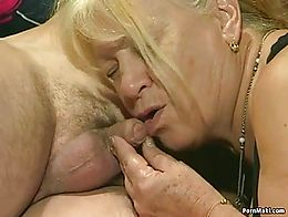 BBW matures having group sex with young guys