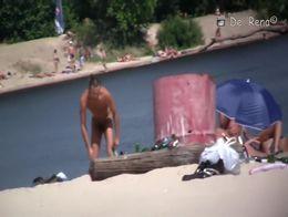 Horny Amateur video with Voyeur, Outdoor scenes