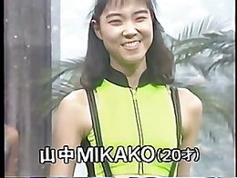 Gorgeous Japanese girls showing spandex lycra swimsuits, leotards and gym wear in 1988 fashion ...
