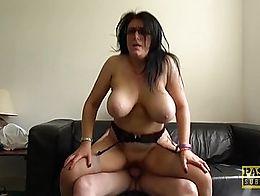 Hot and busty mature Sabrina Jade shows off her seductive body and cock handling skills. Pascal...