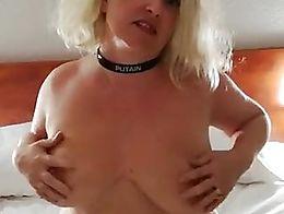 Strip tease and masturbation