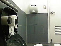 washroom toilet spy