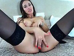 StunningAna sweet pussy loving in adult webcam show 2015 June