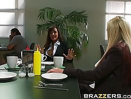 Brazzers - Pornstars Like it Big - Reservoir Sluts scene starring Lisa Ann, Nikki Benz, Johnny ...