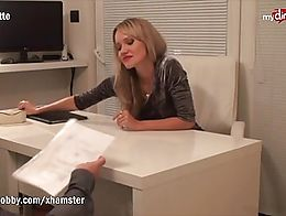 Juliette takes a job interview for hiring a new helping hand. One thing leads to another and no...