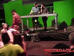 Trio bisexual en el Valencia Sex Festival