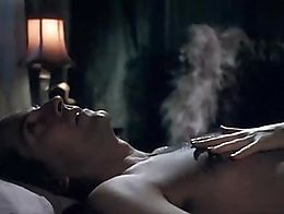 Watch Emmanuelle Vaugier naked boobs and body in a nude sex scene from Hysteria movie.