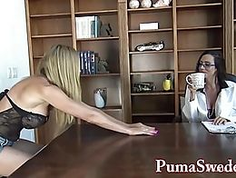 Busty Babe Arielle needs to have Puma Swede and today she is gonna put her under a hypno spell!...