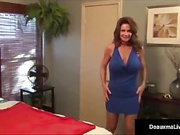American Cougar Deauxma Show her FANS A SUPER SELF Ass Loving, Caressing, & Anal Play vid, all ...