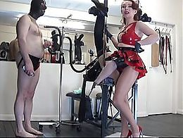 Another in the extreme cock series from the divine West Midlands Mistress, Mistress Julia Taylo...