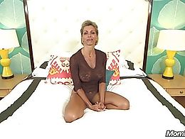 Like her? Her full video and many more Horny Amatuer Milfs are at MOMPOV.