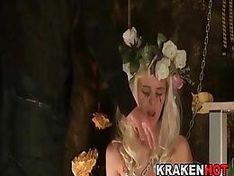 BDSM Punishment, fantasy fairy spanked caned
