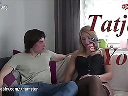 Tatjana finds herself with a teen fan to grant him a long lasting fantasy to fuck her. He seems...