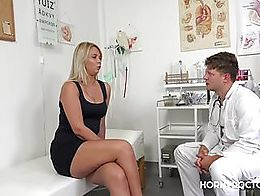 Nikky Dream looks forward to every visit to her gynecologist. He always helps her with her horn...