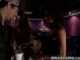 Brazzers - Big Tits In Uniform - Cumming Soon To A Theatre Near You scene starring Brynn Tyler ...