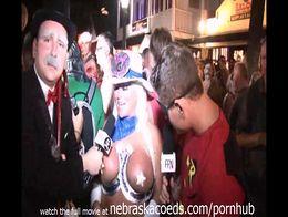 Key west fantasy fest street interviews