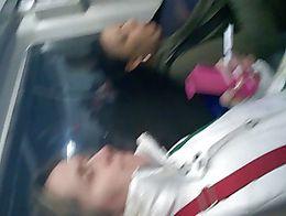 Melonacos en el tren