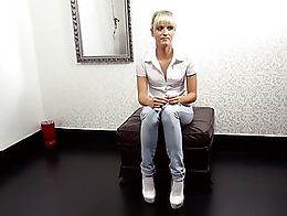 This was her first porn casting and she was so nervous. Such an innocent cute german girl. Do y...