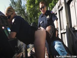 Black Artist Gets Ass Handed To Him by White Police Women