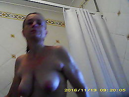 Mate has sent another video of his now 50 year old girlfriend, 34B tits (he claims) leaving the...